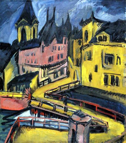 Ernst Ludwig Kirchner - Pfortensteg, Chemnitz