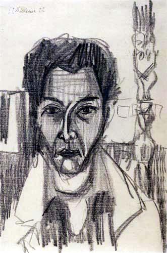 Ernst Ludwig Kirchner - Selbstbildnis