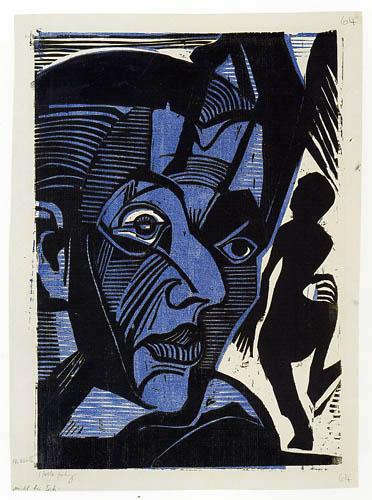 Ernst Ludwig Kirchner - Selfportrait