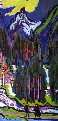 Ernst Ludwig Kirchner - Sertig Valley