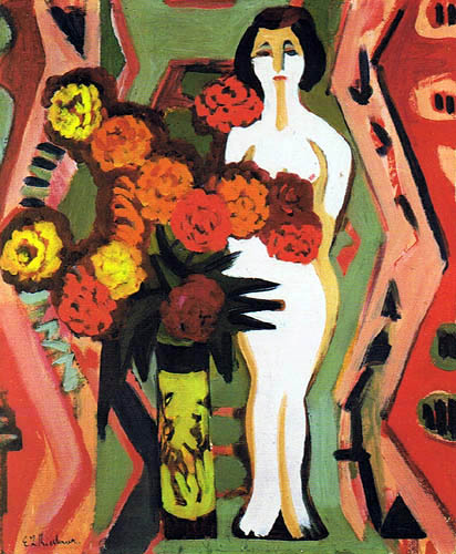 Ernst Ludwig Kirchner - Still Life