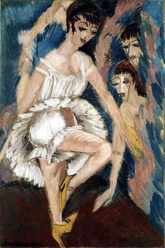 Ernst Ludwig Kirchner - Dancer