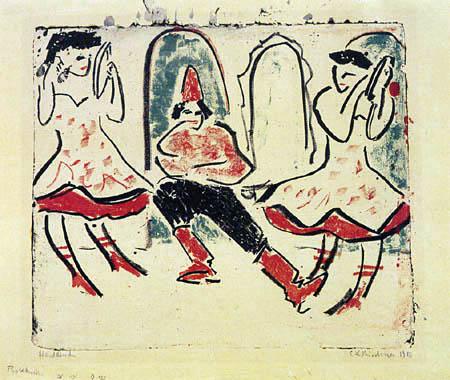 Ernst Ludwig Kirchner - Ungarischer Tanz