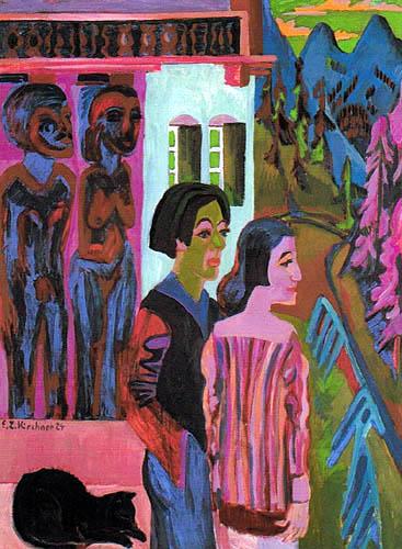 Ernst Ludwig Kirchner - Before Sunrise