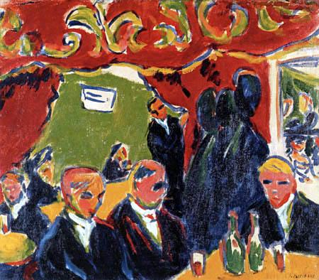 Ernst Ludwig Kirchner - Weinstube