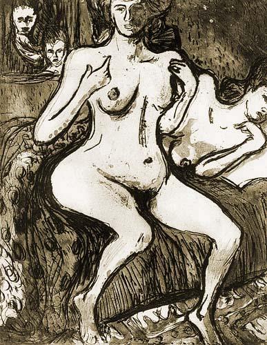Ernst Ludwig Kirchner - Zwei Schwestern