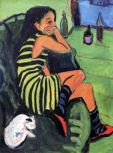 Ernst Ludwig Kirchner - Artistin