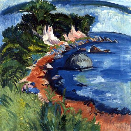 Ernst Ludwig Kirchner - Coast of Fehmarn