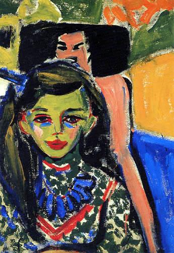 Ernst Ludwig Kirchner - Fränzi