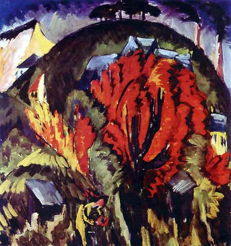 Ernst Ludwig Kirchner - Galgenberg in Jena