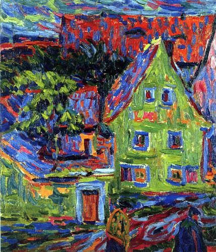 Ernst Ludwig Kirchner - Grünes Haus