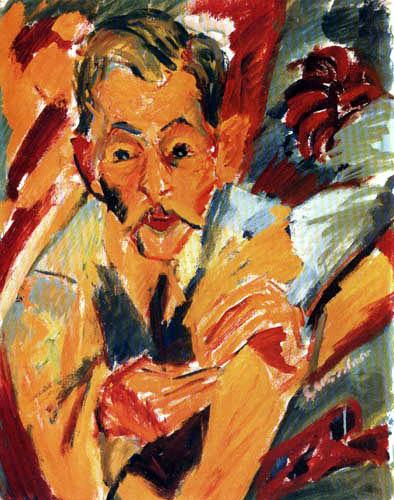 Ernst Ludwig Kirchner - Nurse Bruehlmann