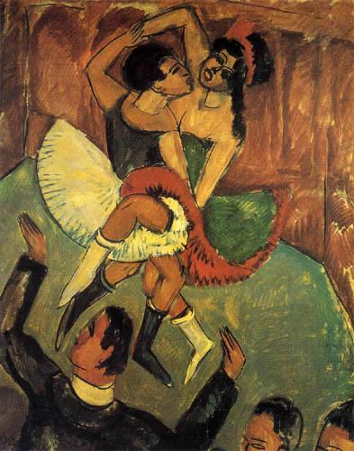 Ernst Ludwig Kirchner - Negertanz