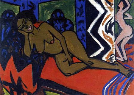 Ernst Ludwig Kirchner - Schlafende Milly