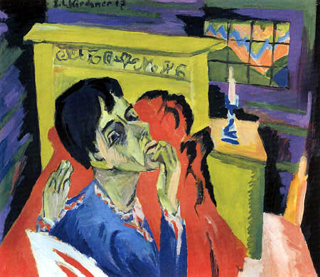 Ernst Ludwig Kirchner - Autoportrait comme malade