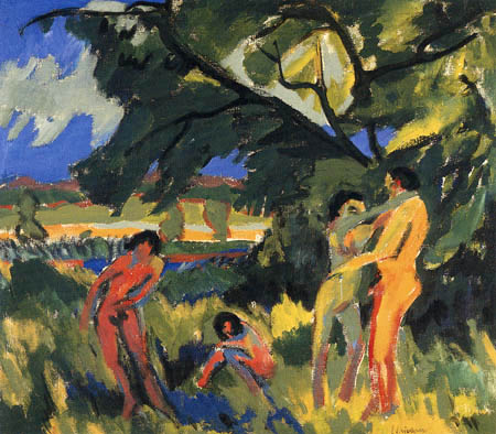 Ernst Ludwig Kirchner - Personnes nues