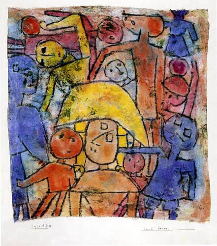 Paul Klee - Bunte Gruppe