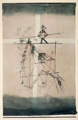 Paul Klee - Der Seiltänzer