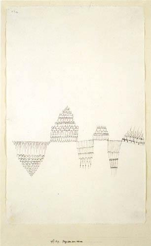 Paul Klee - Pagoden am Wasser