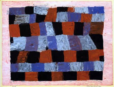 Paul Klee - Rhythmisches strenger und freier