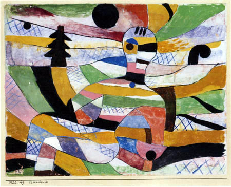 Paul Klee - Erwachende