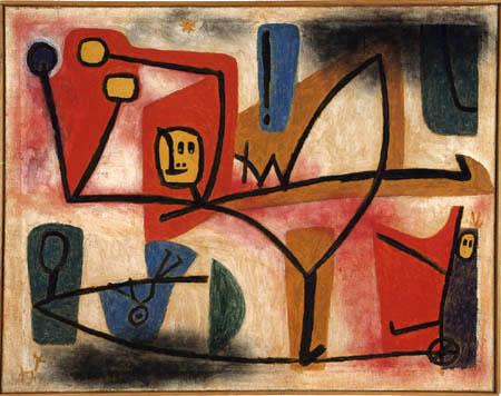 Paul Klee - Übermut