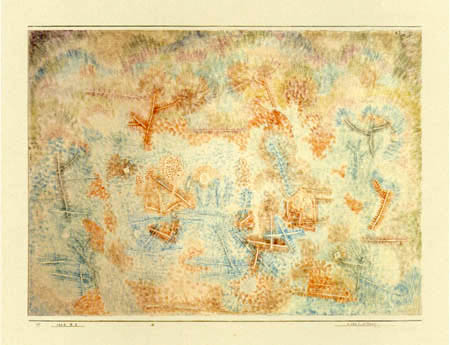 Paul Klee - WaldlichtungClearing in the Forest