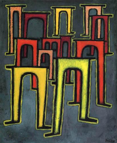 Paul Klee - Revolution des Viaductes
