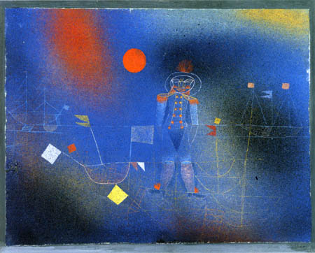 Paul Klee - The adventurer at sea