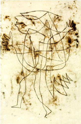 Paul Klee - Small Fool in Trance 2