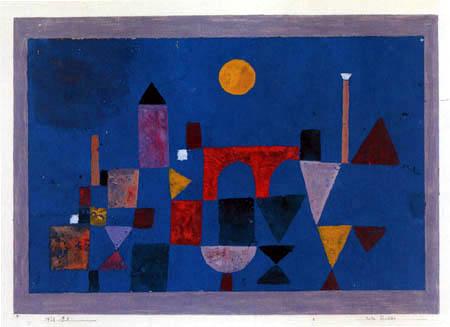 Paul Klee - Rote Bruecke