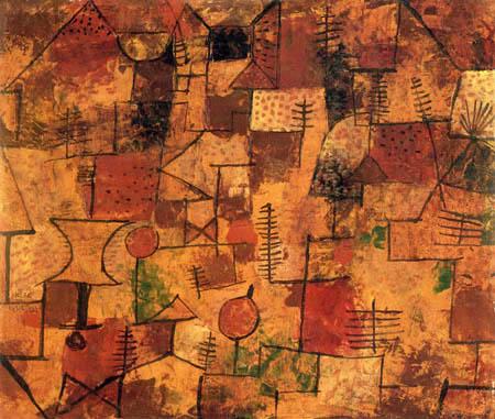 Paul Klee - Gartensiedlung