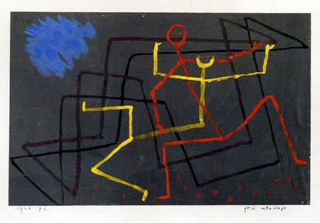 Paul Klee - Yellow Succumbs