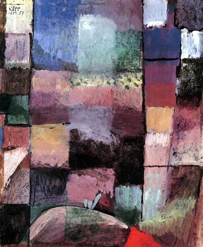 Paul Klee - Über ein Motiv aus Hammamet