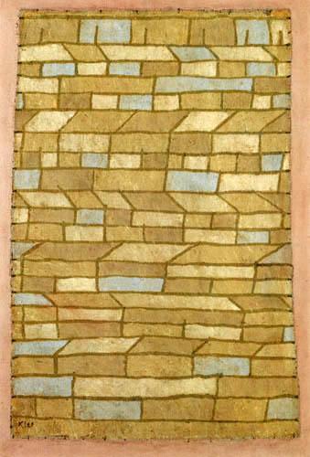 Paul Klee - Barackensiedlung
