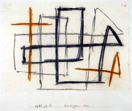 Paul Klee - Dringen ein