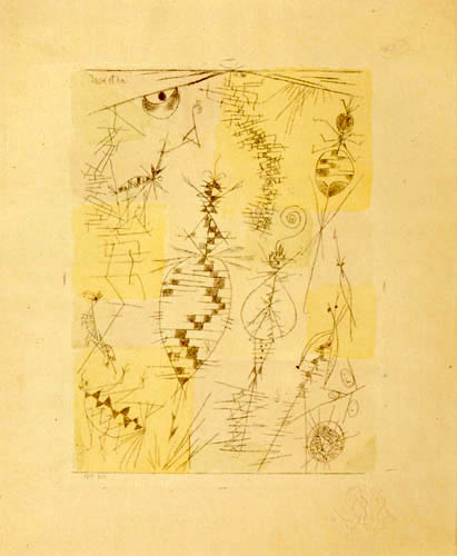 Paul Klee - Insekten