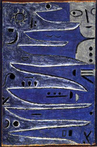 Paul Klee - Der Graue und die Küste