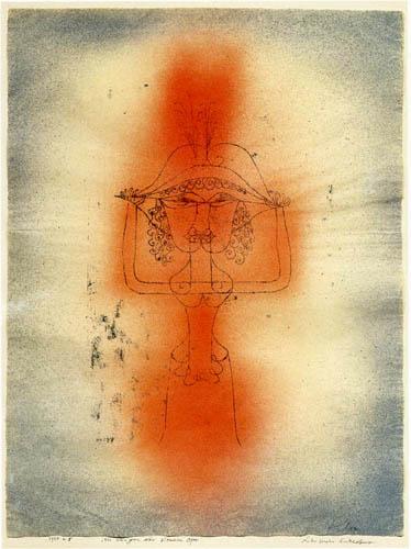 Paul Klee - Die Sängerin der komischen Oper