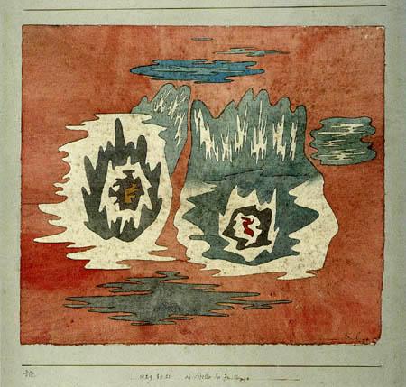 Paul Klee - Die Stelle der Zwillinge