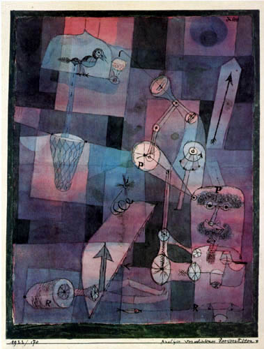 Paul Klee - Analysis of different perversions