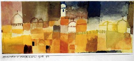 Paul Klee - Ansicht von Kairouan