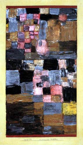Paul Klee - Anstieg eines Städtchens