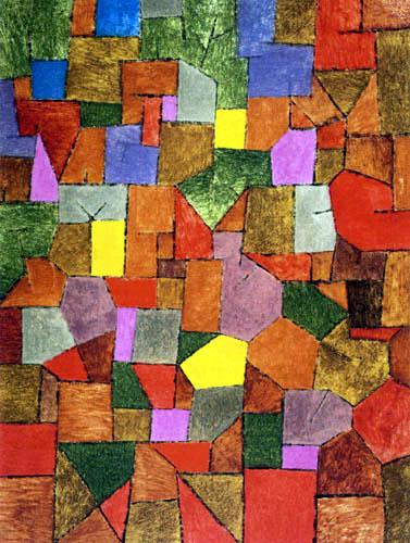 Paul Klee - Mounttain Village - Autumnal