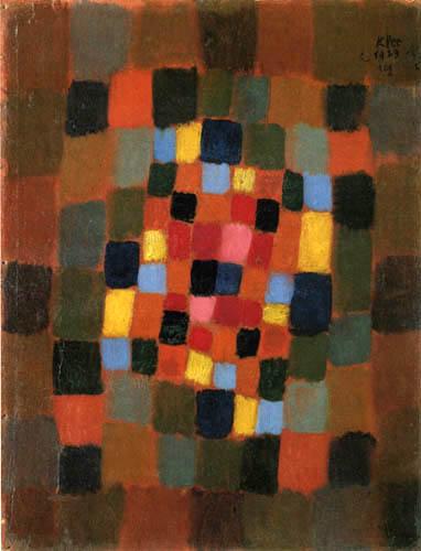 Paul Klee - Buntes Beet