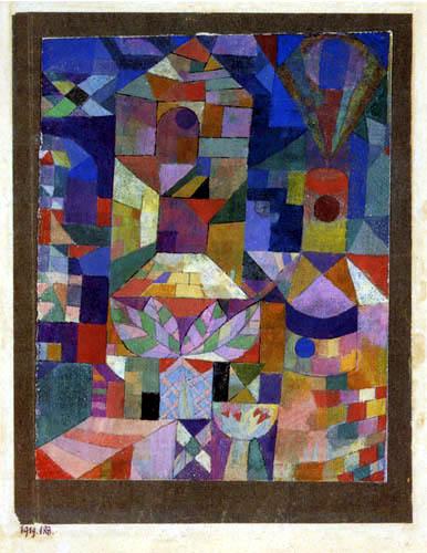 Paul Klee - Burggarten