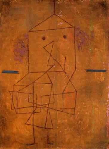Paul Klee - Der Beladene