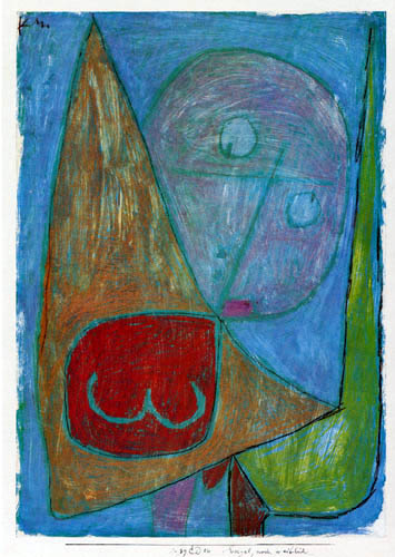 Paul Klee - Engel, noch weiblich