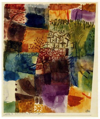 Paul Klee - Erinnerung an einen Garten