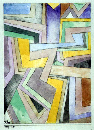 Paul Klee - Farbenwinkel